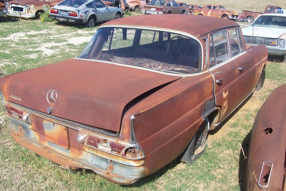 Mercedes S Parts